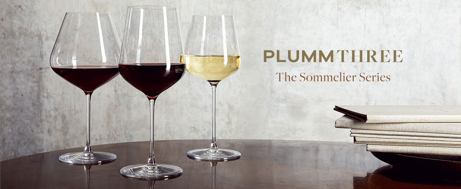 Plumm Red And White Wine Glasses Crystal And Polycarbonate